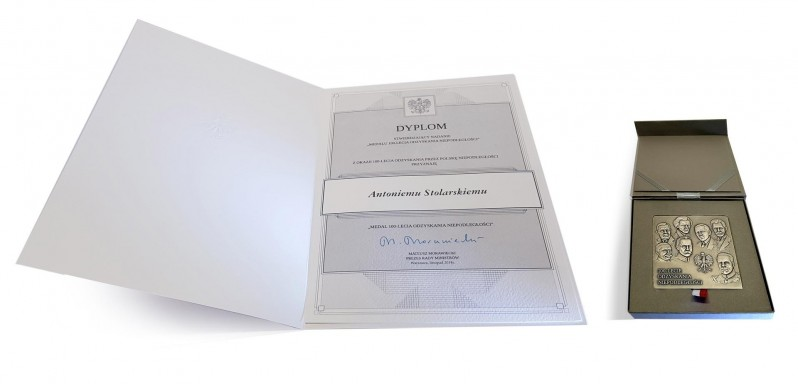 Medal 100-lecia Odzyskania Niepodległości