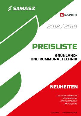 PREISLISTE  GRÜNLANDUND KOMMUNALTECHNIK