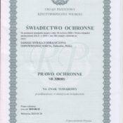 Patent Manewry Lakowe Samasz