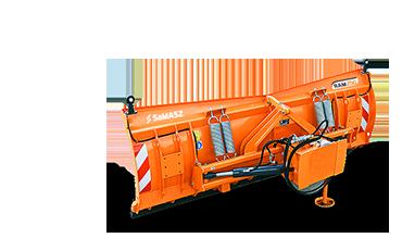 RAM - plow with hinged moldboard