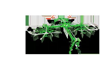 Rastrillo hilerador - 2 rotores