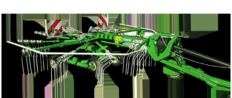 Zgrabiarki  1-karuzelowe ciągnione