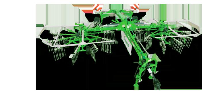 2-rotor rotary rakes