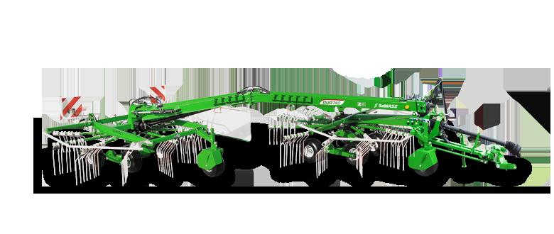 2-rotor rotary rakes DUO-1 or 2 windrows