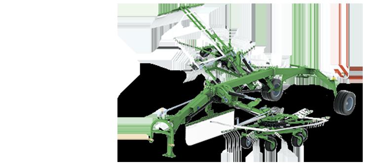 TANGO - zgrabiarka 2-karuzelowa