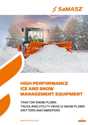 Ice and snow management equipment