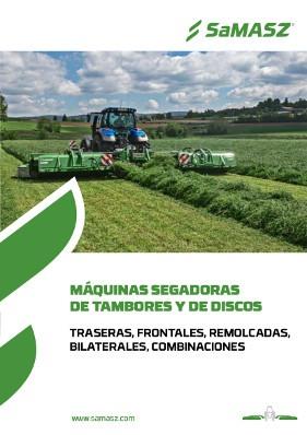 MÁQUINAS SEGADORAS DE TAMBOR Y DE DISCOS