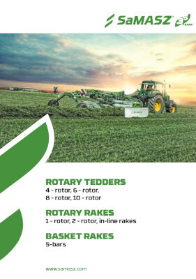 Rotary tedders and rotary rakes