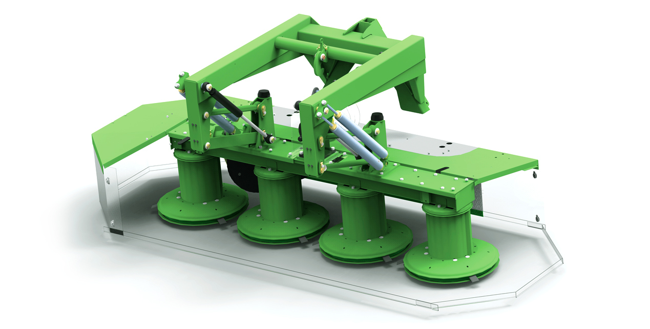 ADVANTAGES OF K2BF / K4BF DRUM MOWERS