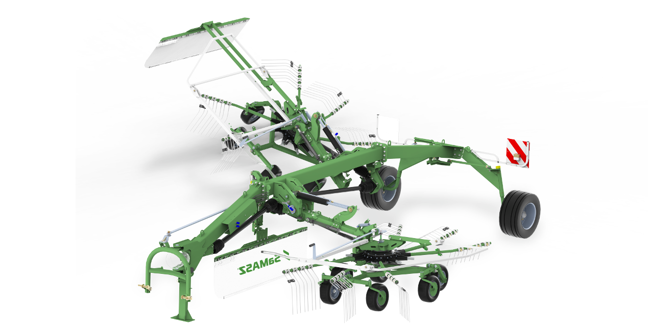 Advantages of 2-Rotor Rakes TANGO