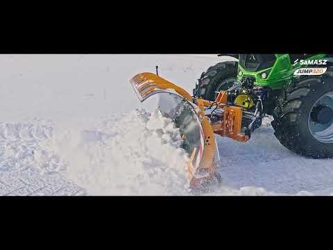 Pług odśnieżny JUMP 320 / Snow plow JUMP 320 SaMASZ / Schneepflug JUMP 320