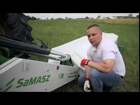 Jak podłączyć kosiarkę dyskową SaMASZ SAMBA 240