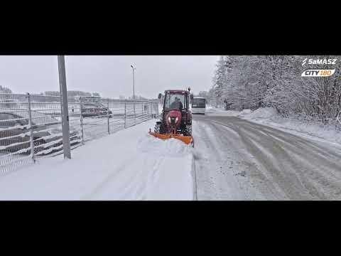 Pług odśnieżny CITY 180 / Snow plows CITY 180 SaMASZ / Schneepflug CITY 180