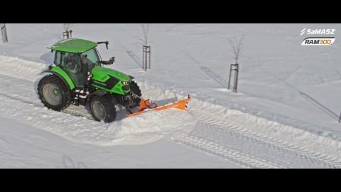 Pług odśnieżny RAM 300 / Snow plow RAM 300 SaMASZ / Schneepflug RAM 300