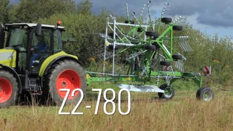zgrabiarka 2-karuzelowa Z2-780 SaMASZ
