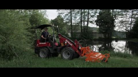 Kosiarka bijakowa NANO 150 Hydro SaMASZ // Flail mower NANO SaMASZ // Schlegelmulcher NANO SaMASZ