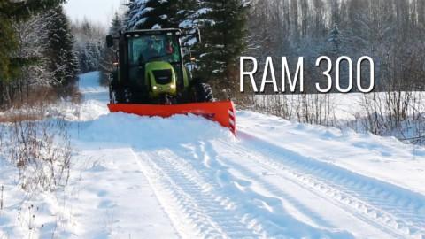 Pług śnieżny RAM 300 SaMASZ