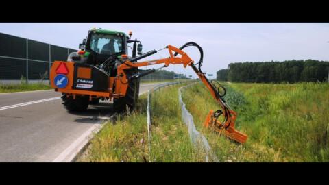Ramię wysięgnikowe KWT 651 EP SaMASZ // Extension arm KWT 651 EP // Auslegemulcher KWT 651 EP SaMASZ