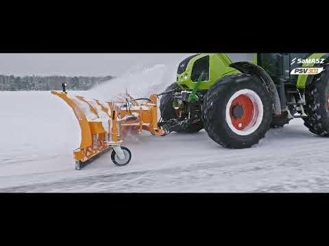 Pług odśnieżny PSV 301 SaMASZ / Snow plow PSV 301 SaMASZ / Schneepflug PSV 301