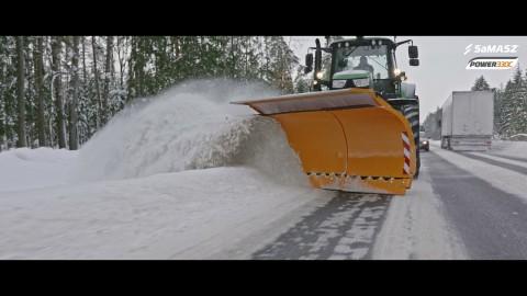 Pług odśnieżny POWER 330C / SaMASZ snow plow POWER 330C / Schneepflug POWER 330C