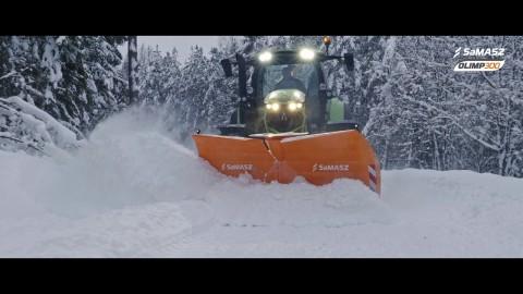 Pług odśnieżny OLIMP 300 / SaMASZ snow plow OLIMP 300 / Schneepflug OLIMP 300