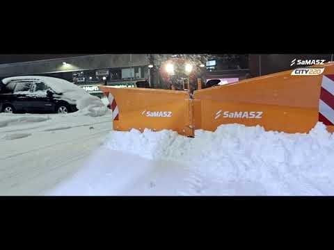 Pług odśnieżny CITY 220 / SaMASZ Snow plow CITY 220 / Schneepflug CITY 220 SaMASZ