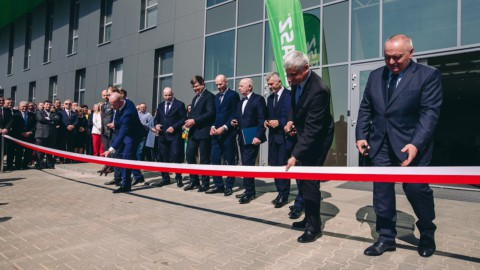 Otwarcie nowej fabryki SaMASZ w Zabłudowie / The grand opening of the NEW SaMASZ factory in Zabłudów