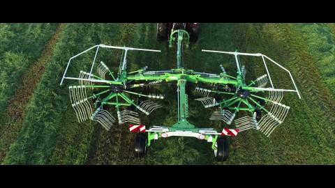 Jak podłączyć zgrabiarkę 2-karuzelową SaMASZ Z2-780 //SaMASZ 2-rotor rotary rakes with SAME tractor