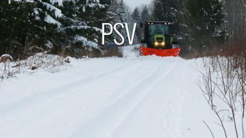 Pług śnieżny PSV SaMASZ