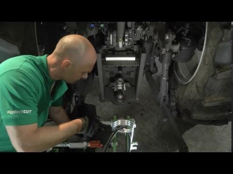 Jak podłączyć kosiarkę dyskową XT 390 od SaMASZ // XT 390 disc mower working witch VALTRA tractor