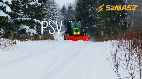 Pług odsieżny PSV SaMASZ