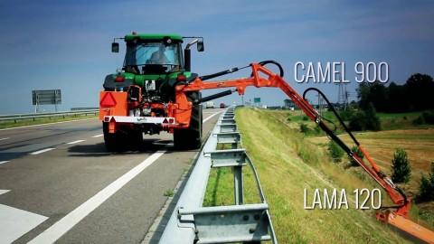 Ramię wysięgnikowe SaMASZ- CAMEL  900+ LAMA 120