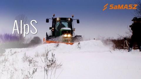 Pług odsieżny AlpS  SaMASZ/SaMASZ snow plow Alps