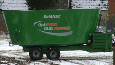 SaMASZ OptiFEED DUO 2200HD - Mixer feeders-Futtermischwagen
