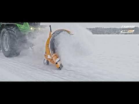 Pług odśnieżny JUMP 320  / SaMASZ snow plow JUMP 320 / Schneepflug JUMP 320